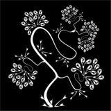 Fondo con un árbol Libre Illustration