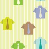 Fondo con una camicia Fotografie Stock
