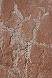 Fondo concreto agrietado de la pared de ladrillo de la vendimia Foto de archivo