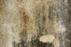 Fondo concreto agrietado de la pared de la vendimia, pared vieja foto de archivo