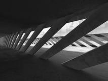 Fondo concreto astratto della costruzione di architettura di struttura Fotografia Stock Libera da Diritti