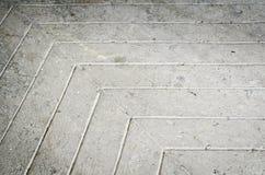 Fondo concreto del pavimento Fotografia Stock