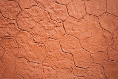 Fondo concreto della parete del bollo Fotografia Stock