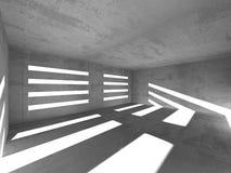 Fondo concreto geométrico abstracto de la arquitectura Fotos de archivo
