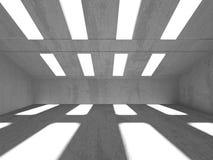 Fondo concreto geométrico abstracto de la arquitectura Imagenes de archivo