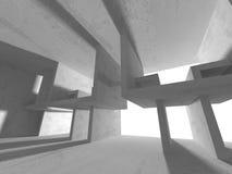 Fondo concreto geometrico astratto di architettura Immagine Stock Libera da Diritti