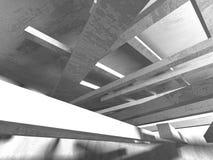 Fondo concreto geometrico astratto di architettura Fotografie Stock