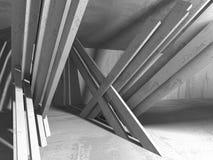 Fondo concreto geometrico astratto di architettura royalty illustrazione gratis