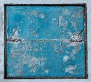 Fondo concreto incrinato del pavimento Fotografie Stock