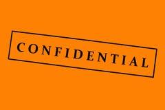 Fondo confidencial Foto de archivo libre de regalías