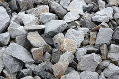 Fondo congelado de la roca Fotografía de archivo
