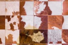 Fondo controllato del tappeto Fotografie Stock Libere da Diritti