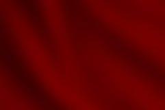Fondo coprente del raso rosso Fotografie Stock Libere da Diritti