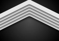 Fondo corporativo abstracto con las flechas Foto de archivo libre de regalías