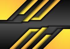 Fondo corporativo anaranjado negro abstracto de la tecnología Imagen de archivo