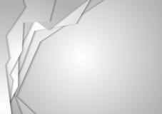 Fondo corporativo geometrico grigio royalty illustrazione gratis