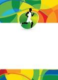 Fondo corrente di sport royalty illustrazione gratis
