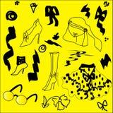 Fondo - cosas de la hembra de la abstracción. foto de archivo libre de regalías