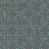 Fondo creativo astratto del modello di vettore di concetto delle forme che geometriche le linee si sono collegate ai punti Proget Fotografia Stock Libera da Diritti