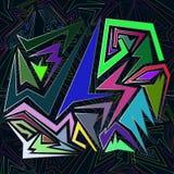 Fondo creativo con los puntos, figuras geométricas libre illustration
