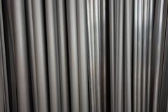 Fondo creativo dal profilo di alluminio della sezione trasversale differente Fotografie Stock Libere da Diritti