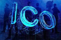 Fondo creativo de ICO libre illustration