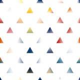 Fondo creativo dei triangoli di astrattismo Fotografia Stock