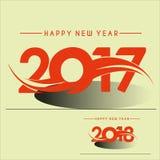 Fondo creativo del diseño de la Feliz Año Nuevo 2018 Feliz Año Nuevo Imagenes de archivo