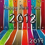 Fondo creativo del diseño de la Feliz Año Nuevo 2018 Feliz Año Nuevo Fotografía de archivo libre de regalías