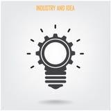 Fondo creativo di concetto di idea del cervello Fotografia Stock Libera da Diritti