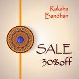Fondo creativo di Raksha Bandhan Sale royalty illustrazione gratis