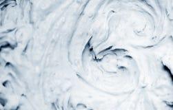Fondo cremoso frío Imagen de archivo libre de regalías