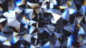 Fondo cristalino abstracto almacen de video