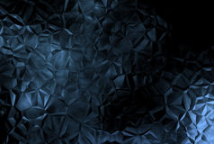 Fondo cristalino abstracto oscuro Foto de archivo libre de regalías