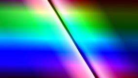 Fondo cristalino del extracto de la pendiente del arco iris Imagenes de archivo