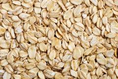 fondo crudo del cereale della farina d'avena Fotografia Stock
