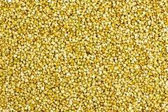 Fondo crudo del grano saraceno Fotografia Stock