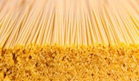 Fondo crudo dell'alimento della pasta o alto vicino di struttura Fotografia Stock Libera da Diritti