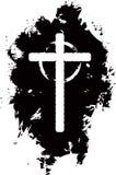 Fondo cruzado de Grunge Foto de archivo libre de regalías