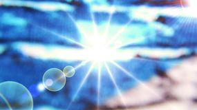 Fondo cósmico Fotografía de archivo libre de regalías