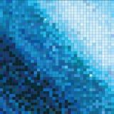 Fondo cuadrado abstracto del mosaico Imagen de archivo