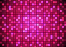 Fondo cuadrado abstracto del mosaico del pixel Imagen de archivo libre de regalías