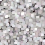 Fondo cuadrado abstracto detallado de la textura, gris, modelo decorativo azul rosado imagen de archivo libre de regalías