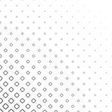 Fondo cuadrado abstracto monocromático del modelo - el diseño gráfico blanco y negro de vector de la diagonal redondeó cuadrados stock de ilustración
