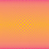 Fondo cuadrado anaranjado del modelo del polígono de la pendiente del verano (vector) foto de archivo libre de regalías