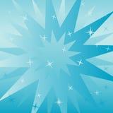 Fondo cuadrado azul Fotografía de archivo libre de regalías