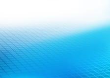 Fondo cuadrado azul abstracto de la teja Ilustración del Vector