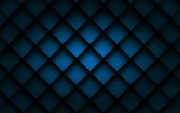 Fondo cuadrado azul del vector Imagen de archivo libre de regalías