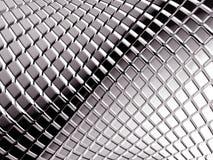 Fondo cuadrado de aluminio abstracto Imágenes de archivo libres de regalías