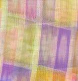 Fondo cuadrado de la tela Imagenes de archivo